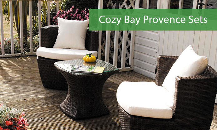Provence Cozy Bay Bistro Set