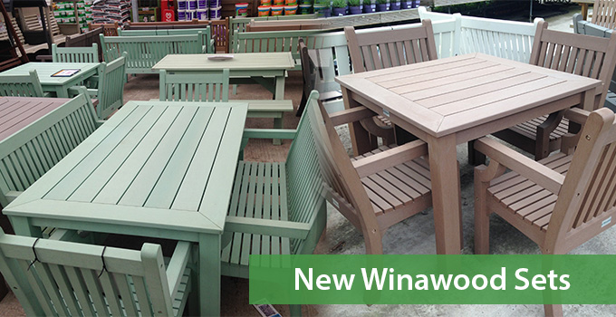 Winawood Dining Sets Composite Wood Effect Amp All Weather