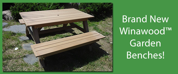 Winawood™ Garden Bench New Arrivals!