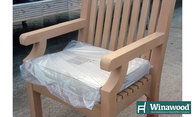 Winawood Ecru Dining Chair Cushion
