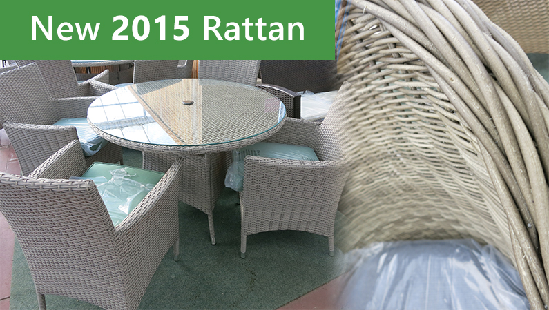New 2015 Editions To Our Rattan Garden Furniture