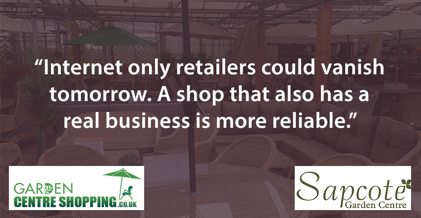 A real business has both online and real shop fronts.