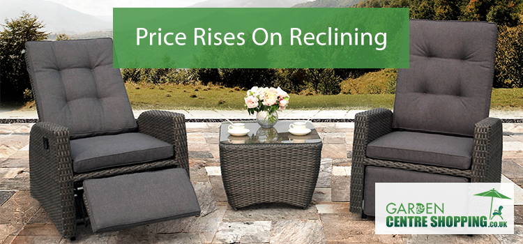 New reclining prices have now come into effect.