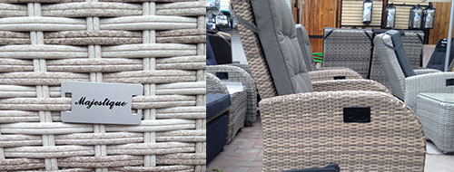 The new style of synthetic rattan furniture