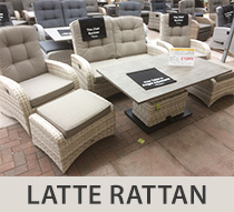 Relaxed Outdoor Dining with our New Adjustable Rattan Table