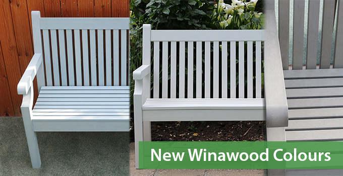 New Winawood Furniture Colours – Blue, White & Grey!