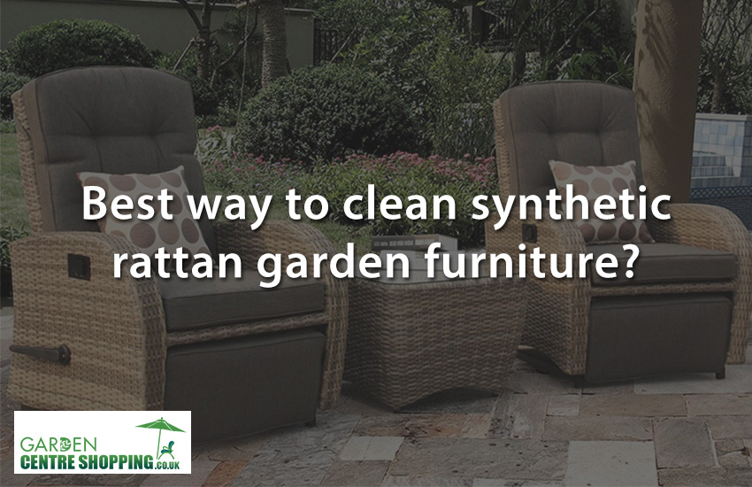 The Best Way To Clean Synthetic Rattan Furniture