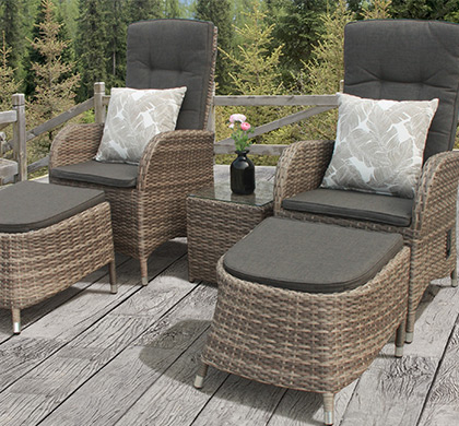 plastic wicker upvc garden furniture resin patio chairs sets uk