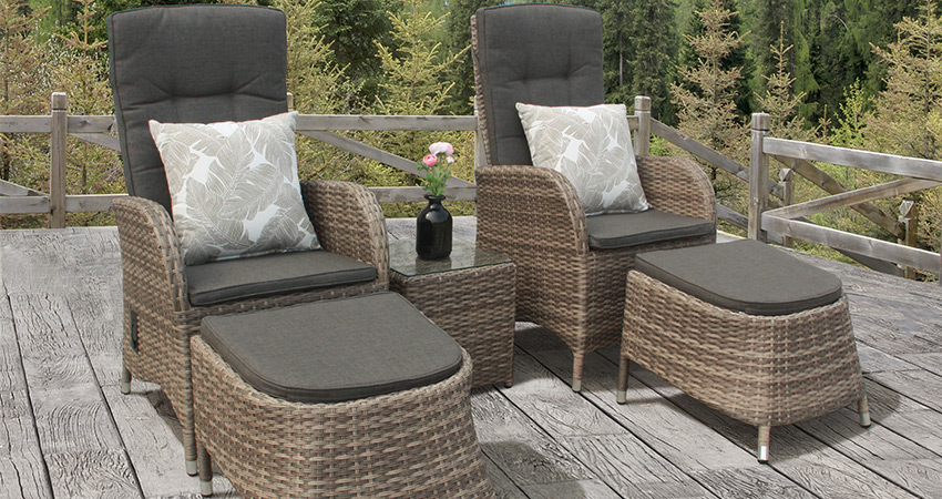 Plastic Resin Wicker Garden Furniture