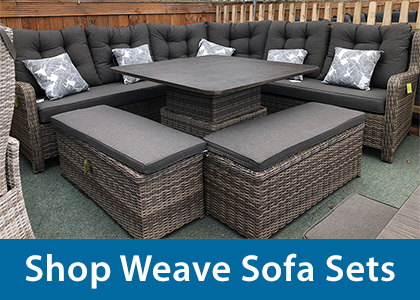 Weave Patio Garden Furniture Sets And Woven Chairs For Sale Uk