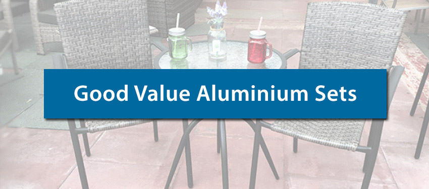 Cheap Aluminium Garden Furniture For Sale 2019 Amazing Value
