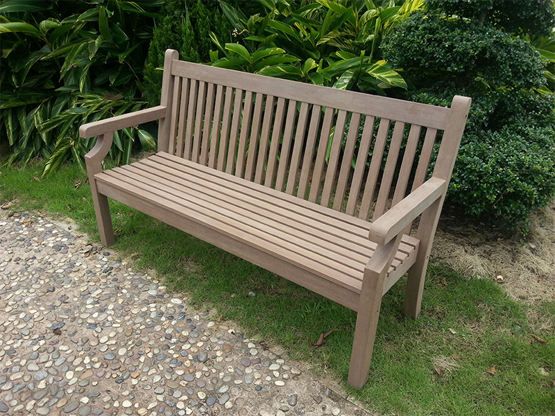 Winawood 3 Seater Sandwick Bench - Grey Finish