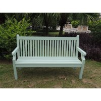Winawood 3 Seater Sandwick Bench - Duck Egg Finish