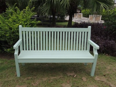 Winawood 3 Seater Sandwick Bench - Duck Egg Finish (PRE-ORDER)