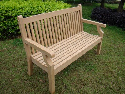 Winawood 2 Seater Sandwick Bench - Teak Finish