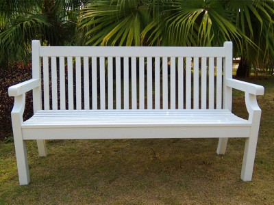 Winawood 3 Seater Sandwick Bench - White Finish (PRE-ORDER)