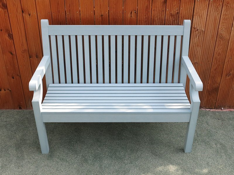 2 Seater Winawood Bench In Blue Free Uk Delivery
