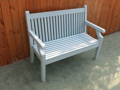 Winawood 2 Seater Sandwick Bench - Blue Finish