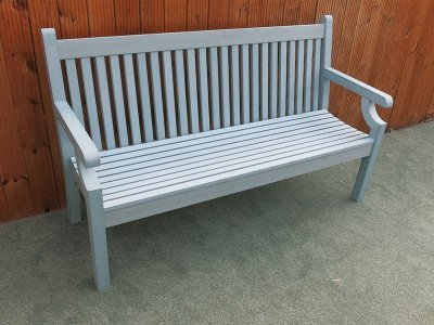 Winawood 3 Seater Sandwick Bench - Blue Finish