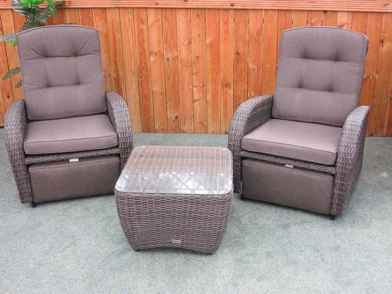 Rocking And Reclining Rattan Bistro Set Buy Online From