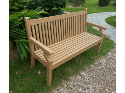 Winawood 3 Seater Sandwick Bench (BUILT) - Teak Finish