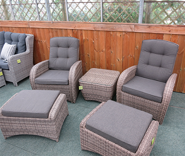 Shop reclining garden furniture
