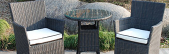 All weather rattan furniture range at Garden Centre Shopping