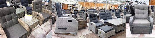 Reclining Chairs for the Patio or Conservatory