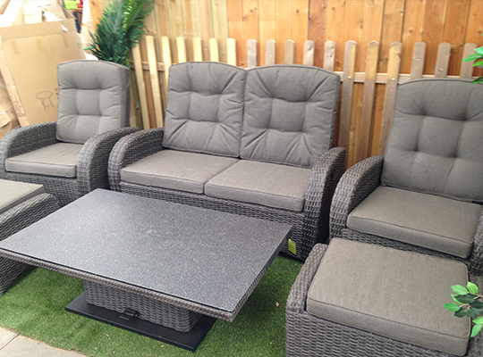 Our range of outdoor sofas