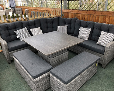 Shop rattan corner sofa sets