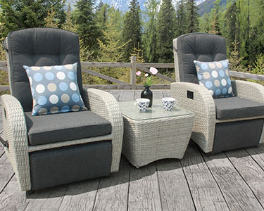 Reclining Garden Chairs Reclining Rattan Furniture